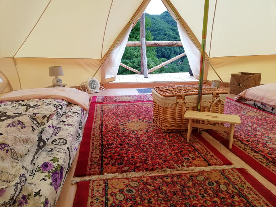 glamping arges