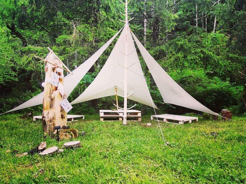 camping fain mures